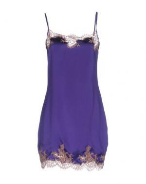 Короткое платье KI6? WHO ARE YOU?. Цвет: фиолетовый