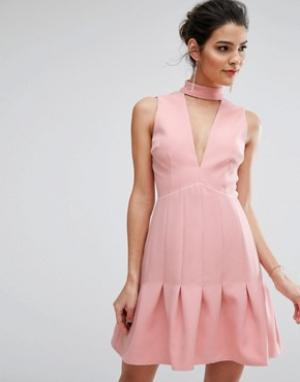 Keepsake Платье Stand Alone. Цвет: мульти