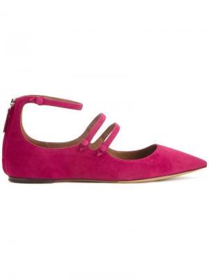 Балетки Luna Tabitha Simmons. Цвет: розовый и фиолетовый