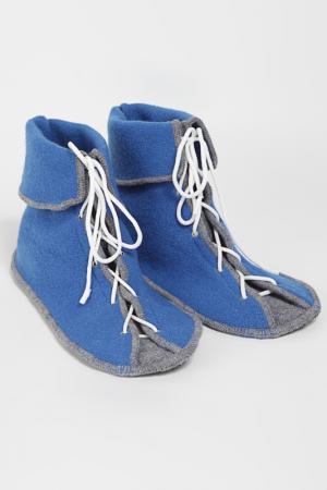 Носожки мужские Кеды ILTANI design. Цвет: синий, серый