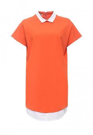 Платье Aurora Firenze. Цвет: оранжевый