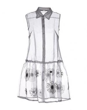 Короткое платье JUPE BY JACKIE. Цвет: серый