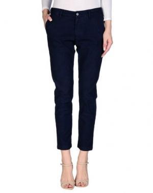 Повседневные брюки BRANCACCIO C.. Цвет: темно-синий