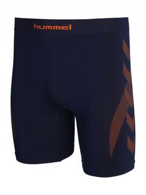 Шорты BASELAYER TIGHTS HUMMEL. Цвет: синий