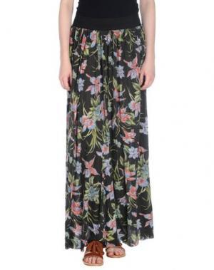 Длинная юбка JCOLOR. Цвет: стальной серый