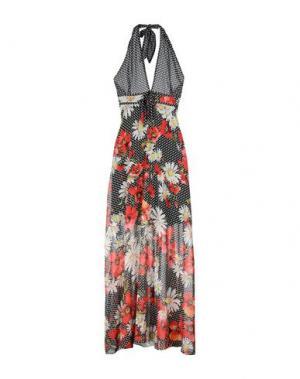 Длинное платье HOPE COLLECTION. Цвет: черный