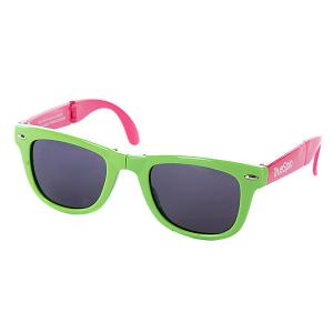 Очки True Spin Folding Sunglasses Green/Pink TrueSpin. Цвет: зеленый,розовый