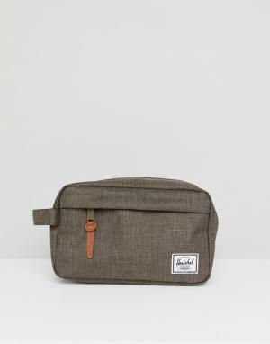 Herschel Supply Co Несессер Chapter. Цвет: зеленый