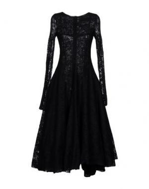 Длинное платье MARC LE BIHAN. Цвет: черный