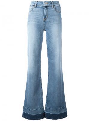 Широкие джинсы Haym Hudson. Цвет: синий