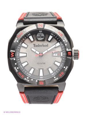 Часы TIMBERLAND. Цвет: черный, красный