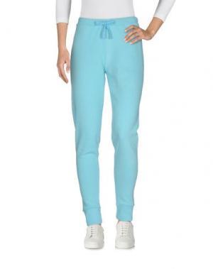 Повседневные брюки FRED PERRY. Цвет: небесно-голубой