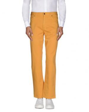Повседневные брюки BROOKSFIELD. Цвет: охра