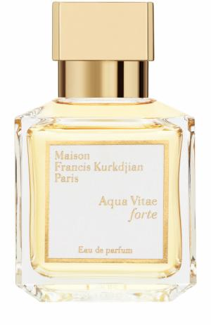 Парфюмерная вода Aqua Vitae forte Maison Francis Kurkdjian. Цвет: бесцветный