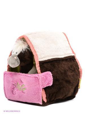 Мягкая игрушка NICI. Цвет: коричневый, розовый