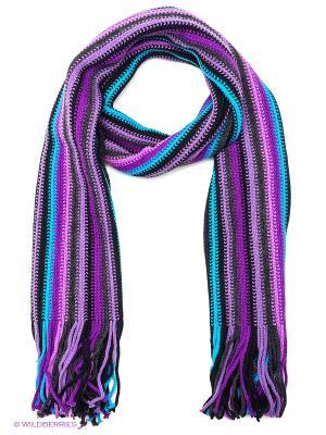 Шарф FOMAS. Цвет: морская волна, фиолетовый, бледно-розовый
