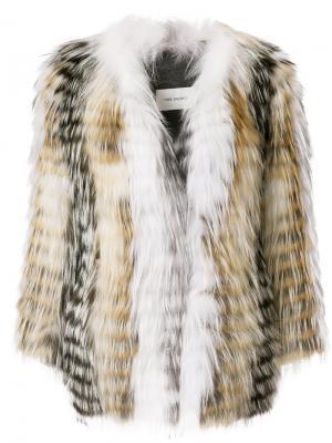 Куртка Renard Yves Salomon. Цвет: многоцветный