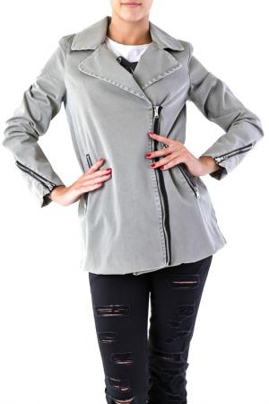Куртка Sexy Woman. Цвет: серый