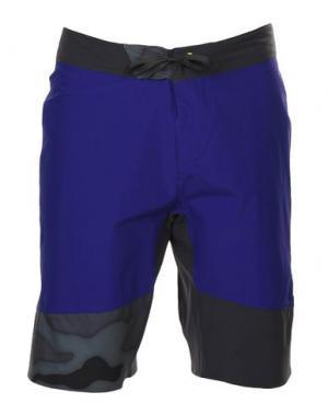 Пляжные брюки и шорты REEBOK. Цвет: фиолетовый