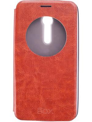 Кейс книжка Asus ZenFone 2 skinBOX. Цвет: коричневый