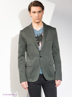 Пиджак HUGO BOSS. Цвет: темно-серый