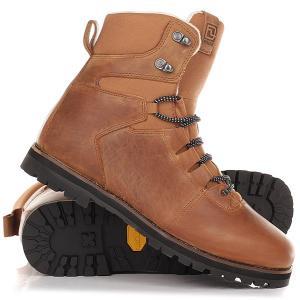 Ботинки высокие  Prime Brown Deeluxe. Цвет: коричневый