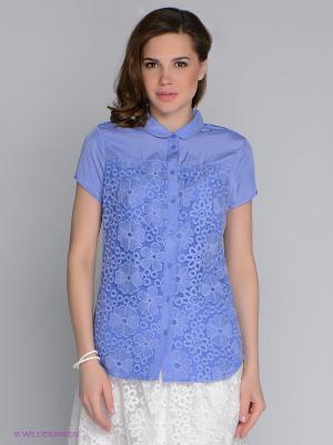 Блузка SAVAGE. Цвет: сиреневый