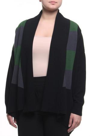 Кардиган Paola Joy. Цвет: черный, зеленый