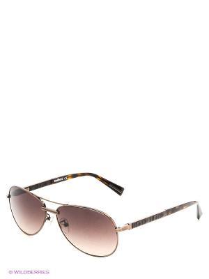 Солнцезащитные очки BLD 1414 102 Baldinini. Цвет: коричневый