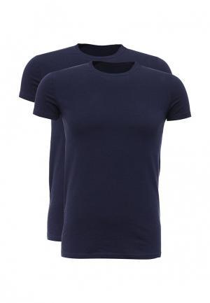 Комплект футболок 2 шт. Dsquared Underwear. Цвет: синий