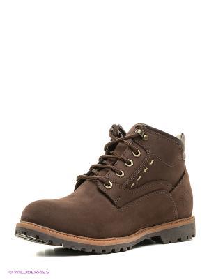 Ботинки Best Walk. Цвет: коричневый