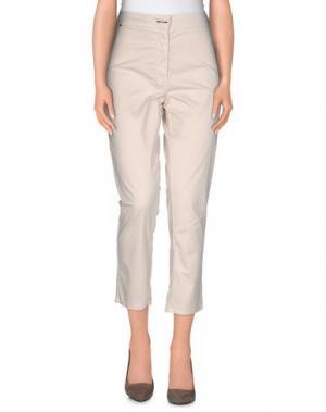 Повседневные брюки ANNARITA N.. Цвет: бежевый