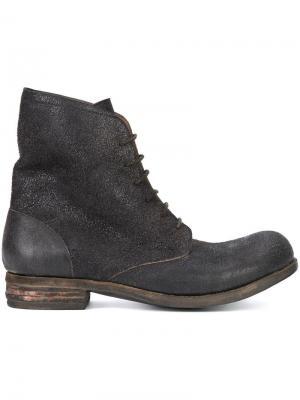 Ботинки на шнуровке A Diciannoveventitre. Цвет: none