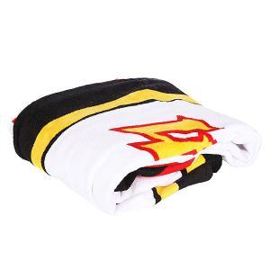 Полотенце  Style Masters Towel Unique Lightning Bolt. Цвет: черный,желтый,белый