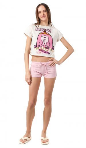 Пижама С Принтом Adventure Time 42 ТВОЕ. Цвет: бежевый