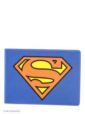 Обложка для студенческого билета Супермен Mitya Veselkov. Цвет: синий, красный