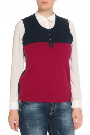 Жилетка Paola Joy. Цвет: черный, розовый
