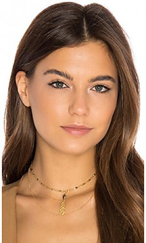 Ожерелье maren Vanessa Mooney. Цвет: металлический золотой