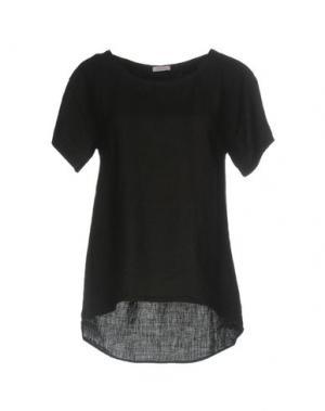 Блузка ROSSOPURO. Цвет: черный