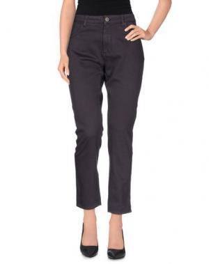 Повседневные брюки SUPERFINE. Цвет: фиолетовый