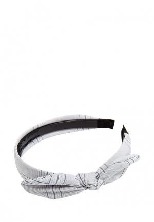 Ободок Kameo-Bis. Цвет: серый