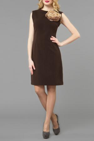 Платье Kata Binska. Цвет: коричневый