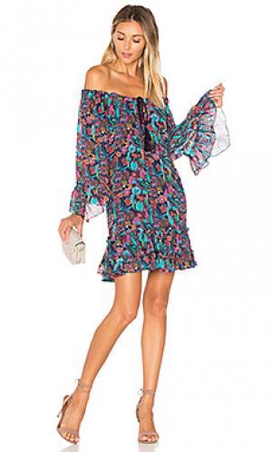 Платье lupita TRYB212. Цвет: синий