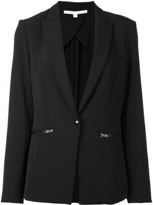 Single breasted dinner jacket Veronica Beard. Цвет: чёрный