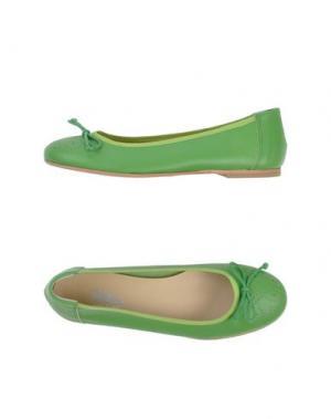 Балетки HELEN. Цвет: светло-зеленый