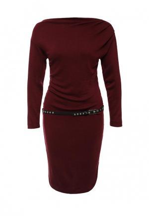 Платье Gaudi. Цвет: бордовый