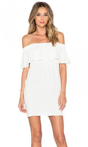 Платье senorita Otis & Maclain. Цвет: белый