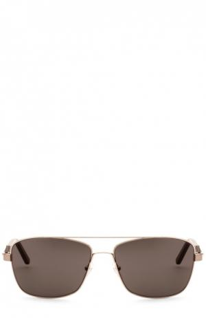 Солнцезащитные очки Montblanc. Цвет: бесцветный