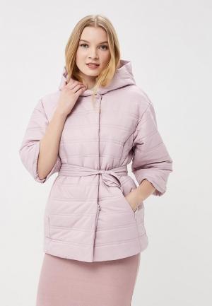 Куртка утепленная Odri Mio. Цвет: фиолетовый