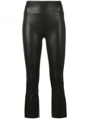 Укороченные брюки Sprwmn. Цвет: чёрный